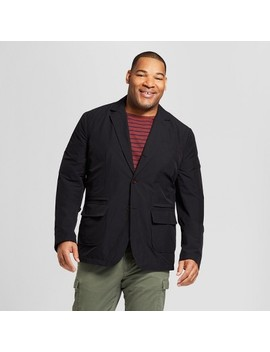 Men's Big & Tall Standard Fit Tech Blazer   Goodfellow & Co™ Black by Shop All Goodfellow & Co™