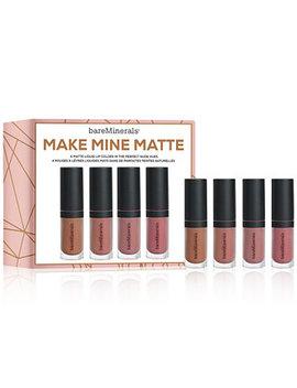 4 Pc. Gen Nude Mini Matte Liquid Lip Set by Bare Minerals