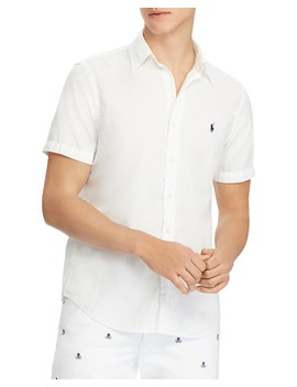 Twill Slim Fit Button Down Shirt by Polo Ralph Lauren
