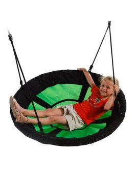 40 Inch Diameter Green Nest Swing by Swing N Slide