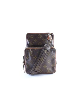 Amazon 23lr0611 Brown Monogram Canvas Backpack by Louis Vuitton