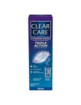 Clear Care Triple Action Cleaning And Disinfecting Solution by Shop All Clear Care