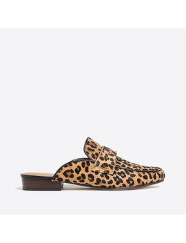 Calf Hair Loafer Slides by J.Crew