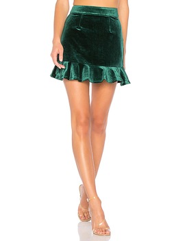 Lisa Velvet Skirt by About Us
