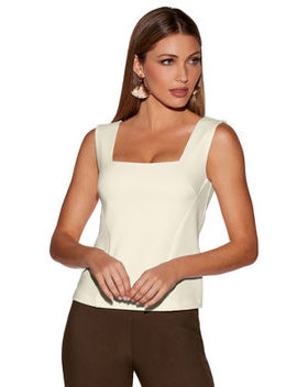 Beyond Travel™ Sleeveless Shell Top by Boston Proper