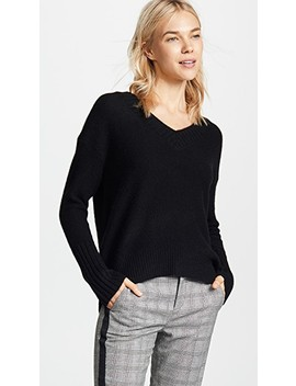 Eliza Cashmere Sweater by 360 Sweater