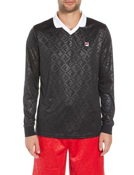 Carter Johnny Collar Long Sleeve Polo by Fila