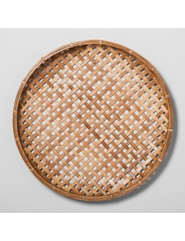 Flat Rattan Wall Art   Hearth & Hand™ With Magnolia by Shop Collections