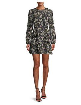 Playful Long Sleeve Mini Dress by Neiman Marcus