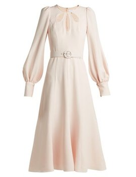 Cut Out Crepe Midi Dress by Andrew Gn