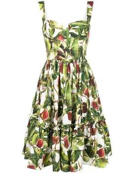 Printed Poplin Dress by Dolce & Gabbana