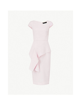 Dandridge Wool Crepe Dress by Roland Mouret