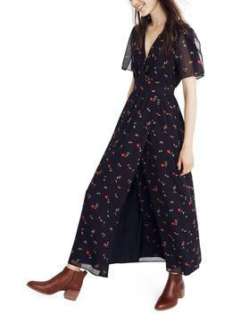 Tulip Sleeve Maxi Dress by Madewell