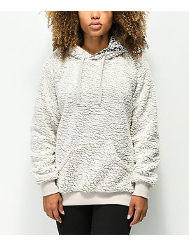 Thread & Supply Wubby Ivory Hoodie by Thread And Supply