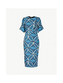 Bancroft Jacquard Knit Midi Dress by Roland Mouret