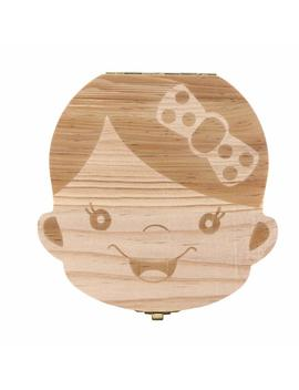 Z Yooh Baby Teeth Save Box,Cute Personality Wood Storage Box For Boy And Girl by Z Yooh