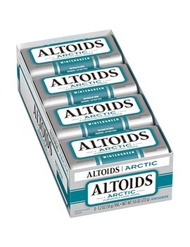 Altoids Arctic Mints, Wintergreen, 1.2 Ounce (8 Count) by Altoids