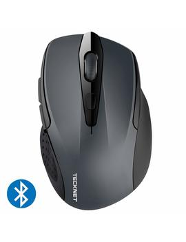 Teck Net 2600 Dpi Bluetooth Wireless Mouse, 24 Months Battery Life Battery Indicator, 2600/2000/1600/1200/800 Dpi by Tecknet