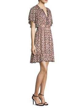 Floral Mosaic Flutte Sheath Dress by Kate Spade New York