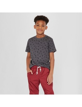 Boys' Short Sleeve T Shirt   Cat & Jack™ Gray by Shop All Cat & Jack™