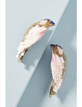 Songbird Drop Earrings by Mignonne Gavigan