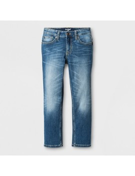 Boys' Medium Wash Skinny Fit Denim   Cat & Jack™ Blue by Shop All Cat & Jack™