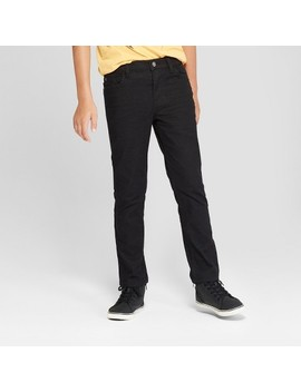 Boys' Skinny Fit Jean  Cat & Jack™   Black Wash by Shop All Cat & Jack™