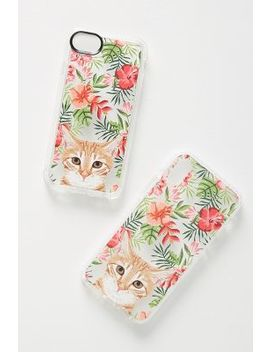 Casetify Hawaiian Cat I Phone Case by Casetify