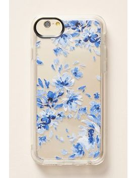 Casetify Indigo Floral I Phone Case by Casetify