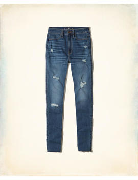 Ultra High Rise Super Skinny Jeans by Hollister