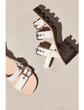 So Ho Block Heel by Free People