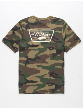 Vans Full Patch Boys T Shirt by Vans