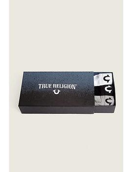 Long Length 3 Packs Boxer Briefs Box by True Religion