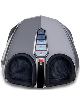 Miko Shiatsu Foot Massager With Deep Kneading, Multi Level Settings, And Switchable Heat Charcoal Grey by Miko