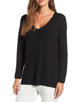 v-neck-tunic-sweater by lou-&-grey