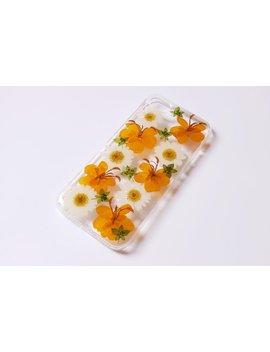 Handmade Real Pressed Dried Flower Case, I Phone X 5s 6 6s 7 8 Plus Se Case, Samsung Galaxy S6 S7 Edge  S8+ S9+ Note8 Case, Lg G6 G7 V30 Case by Sunny Pig Studio