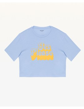 Yes Please Boxy Tee by Juicy Couture