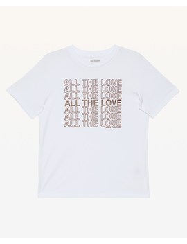 All The Love Flocked Tee by Juicy Couture