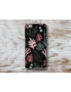 """Coral Sea Seaweed Phone Case For Huawei P20 Pro P10 Plus P9 P8 Lite Mate 10 9 S G8 P S Mart Nexus 6 P Cases..  """"Designed By A.Miró Barcelona"""" by Mr Wild Studio"""
