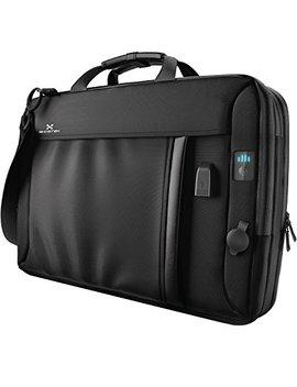 "Ghostek Nr Gmessenger Series 8.5 L Laptop Messenger Shoulder Bag + 16,000m Ah Power Bank With 3 Usb Ports   Water Resistant   Laptops Up To 15.3""   Integrated Led Power Bar Indicator by Ghostek"