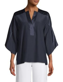 nolia-silk-blouse by elie-tahari