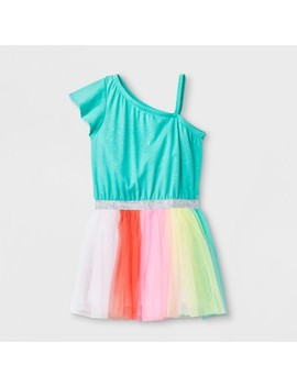 Toddler Girls' Tutu Dress   Cat & Jack™ Iridescent Green by Shop All Cat & Jack™