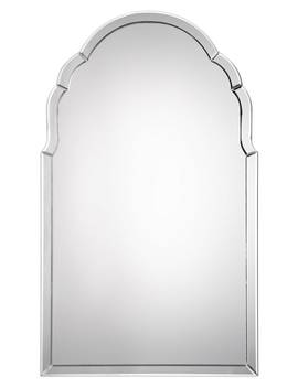 Frameless Arch Mirror by Uttermost