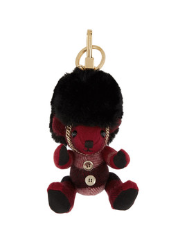 Red Thomas Busby Keychain by Burberry