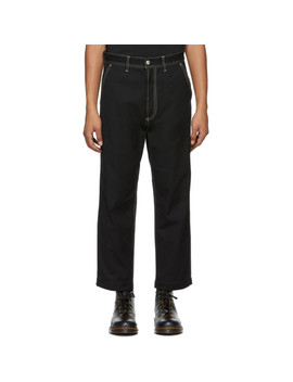 Black P Frank Trousers by Diesel