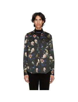 Multicolor Floral Shirt by Johnlawrencesullivan