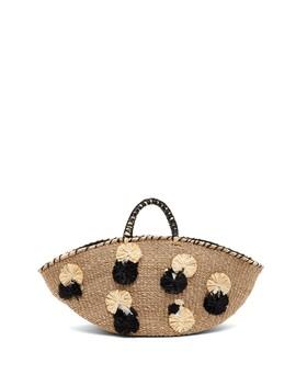 Carosa Straw Tote Bag by Aranaz