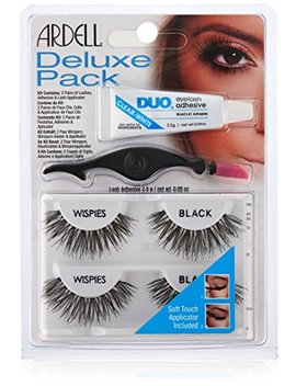 Ardell Deluxe Pack Wispies With Applicator, 68947, 1 Count by Ardell