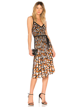 Pleated Midi Dress by Kenzo
