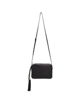 Black Lou Camera Bag by Saint Laurent